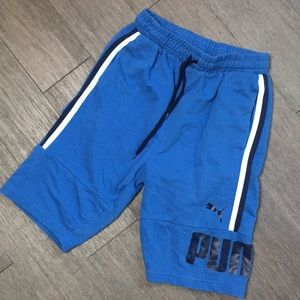 Puma boys blue shorts L 14-16